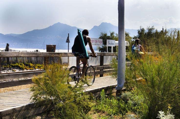 camping les castors attività ciclistica
