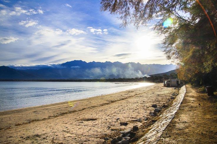 sito turistico Calvi vicino al campeggio Corsica
