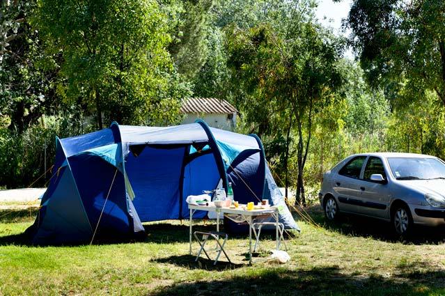 campeggio bungalow posizione in Corsica